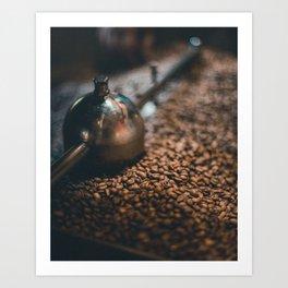 Roasted Coffee Art Print