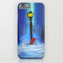 Waiting for Lucy iPhone Case