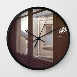Apartment in Paris Wall Clock