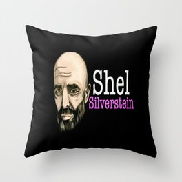 Shel Silverstein Throw Pillow