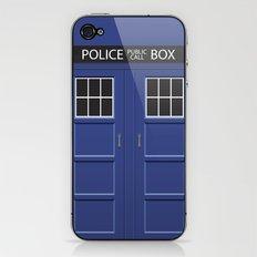 Tardis - Doctor Who iPhone & iPod Skin