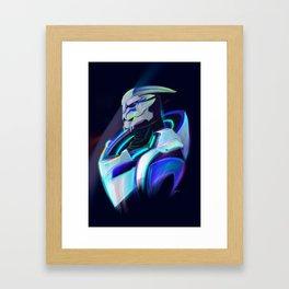 NEON Tiran Kandros Fan Art Framed Art Print