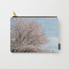 cherry blossom and blue sky Carry-All Pouch