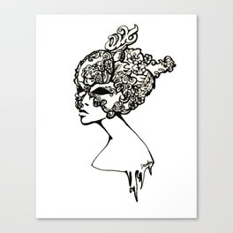 Venice Woman Canvas Print