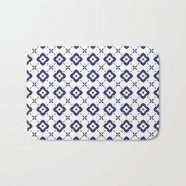 beautiful batik pattern Bath Mat