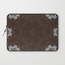 Stitches and Suede Laptop Sleeve