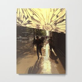 The Rain Runners Metal Print