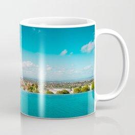 smimming pool in paradise Coffee Mug
