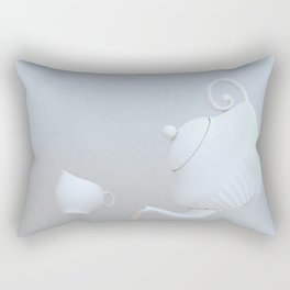 Tea Hour Rectangular Pillow