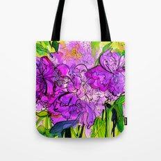 Summer Peonies Tote Bag