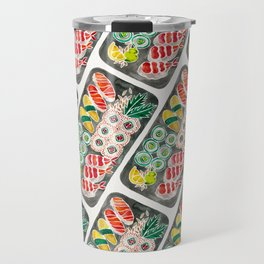 Sushi Collection – Black Platter Travel Mug
