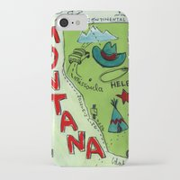 montana iPhone & iPod Cases featuring MONTANA by Christiane Engel
