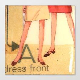 Dress Front Canvas Print