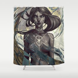 Dirthalen Shower Curtain