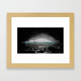 The Wave Within Framed Art Print
