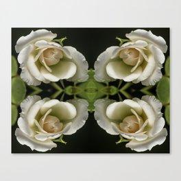 Kaleidoscope Peach Canvas Print