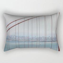 San Francisco Through Golden Gate Rectangular Pillow
