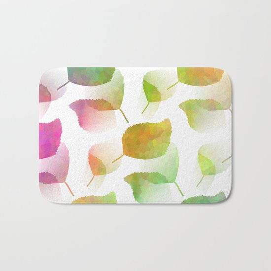 Colorful Nature Bath Mat