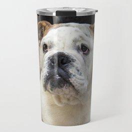 British bulldog puppy Travel Mug