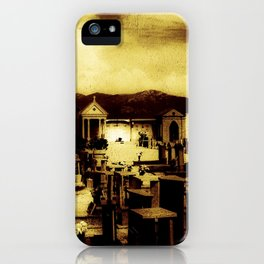 Italian Graveyard (O171015ig) iPhone Case
