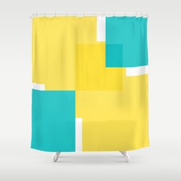 Geomeric background Shower Curtain
