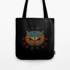 Owl Face Tote Bag
