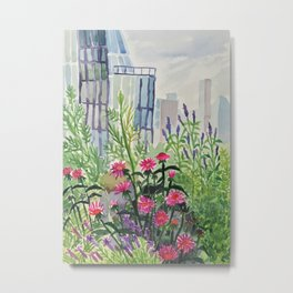 Highline on a Summer Day Metal Print