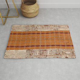 Tapis Lampong South Sumatra Indonesian Wrap for Woman Print Rug