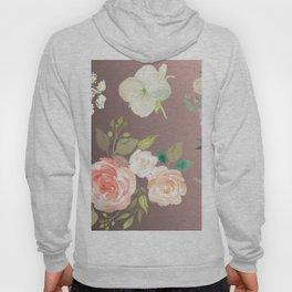 Flower Pattern Hoody