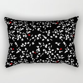 Wind On The Leaves At Night Rectangular Pillow