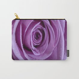 Purple Rose-3 Carry-All Pouch