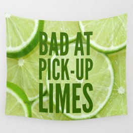 Pick Up Limes Wall Tapestry