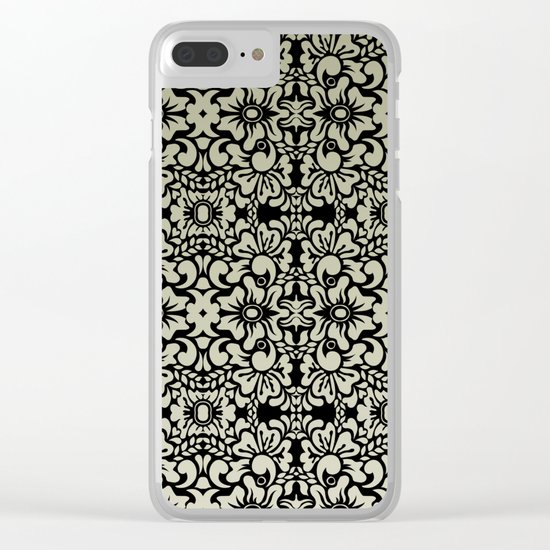 Pattern #14 Clear iPhone Case