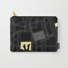 Windows and Heels Carry-All Pouch