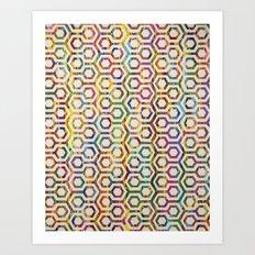 The Hex Art Print