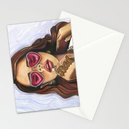 Lana del bad-bitch Stationery Cards