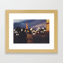 La Concorde Framed Art Print