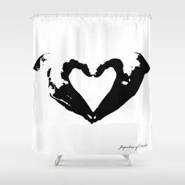 La voix du coeur | 心臟的聲音 Shower Curtain