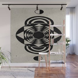 Octagonal Illusion Wall Mural