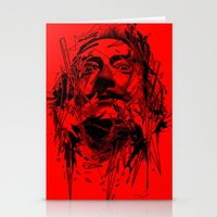dali Stationery Cards featuring Dali by nicebleed