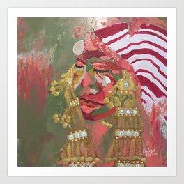 Ghdamsiya Art Print