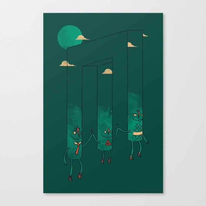The Belvederes Canvas Print