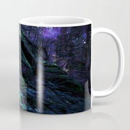 Midnight Enchantment : Forest Wall Coffee Mug