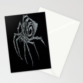 Spider in Reverse Stationery Cards