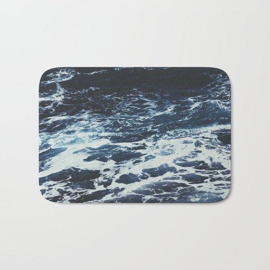 Dark Ocean Bath Mat