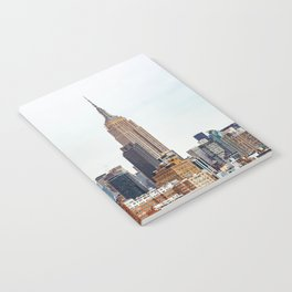 The New York Cityscape City (Color) Notebook