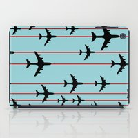 planes iPad Cases featuring Planes by Frances Roughton
