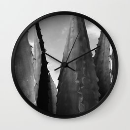 Agave Towers Wall Clock