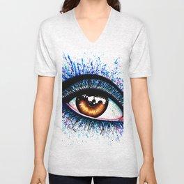 Eye II Unisex V-Neck