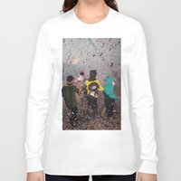 butterfly Long Sleeve T-shirts featuring Butterfly by Lerson